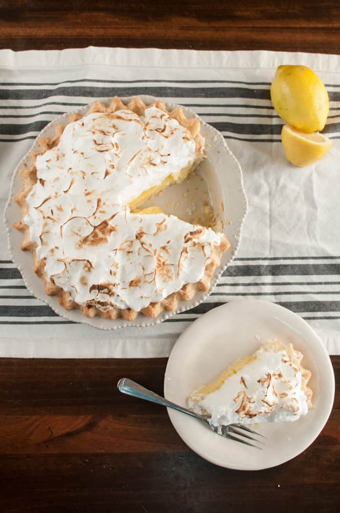 Grandma's Classic Lemon Meringue Pie