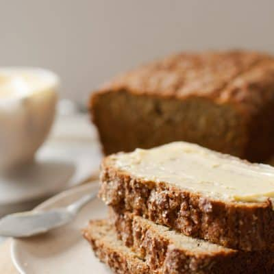 Ultimate Gluten Free Banana Bread