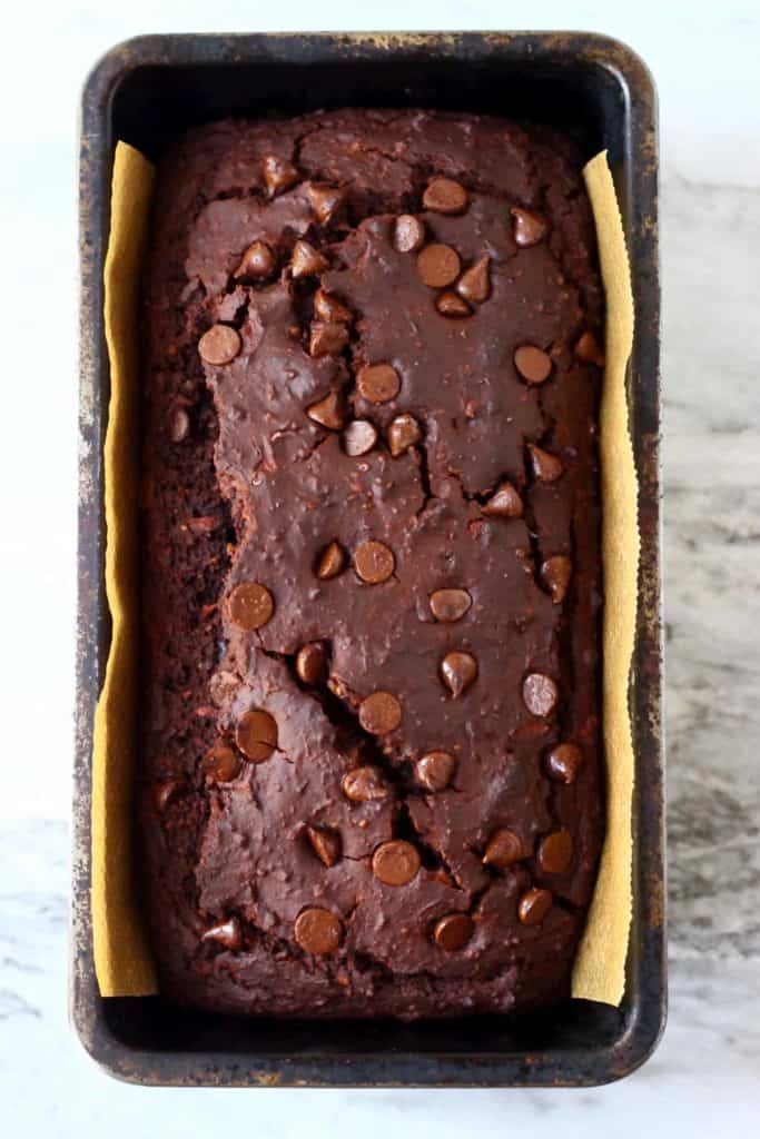 Gluten Free and Vegan Chocolate Zucchini Bread