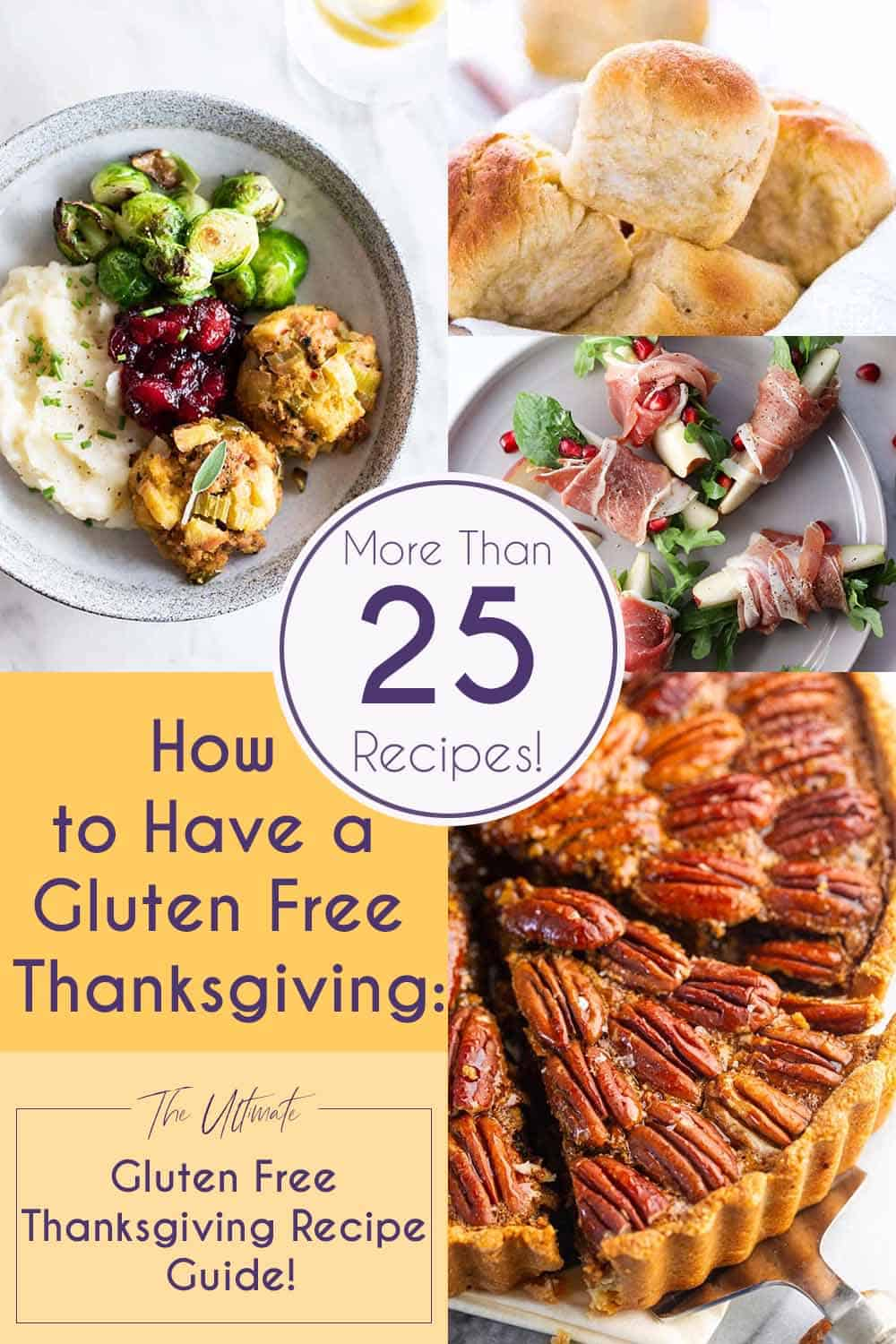 How To Have a Gluten Free Thanksgiving PInterest Graphic